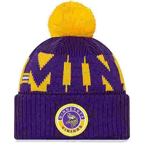 New Era Minnesota Vikings Bommelmütze official team colour
