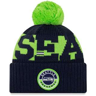 New Era Seattle Seahawks Bommelmütze official team colour