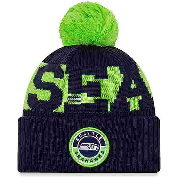 New Era Seattle Seahawks Bommelmütze official team colour