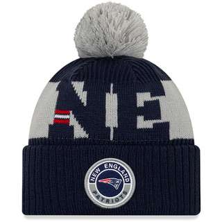 New Era New England Patriots Bommelmütze official team colour