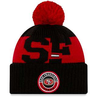 New Era San Francisco 49ers Bommelmütze official team colour