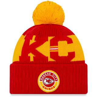 New Era Kansas City Chiefs Bommelmütze official team colour