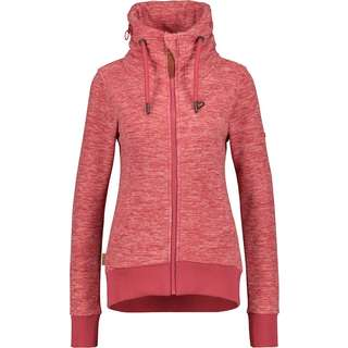 ALIFE AND KICKIN VivianAK B Fleecejacke Damen cranberry