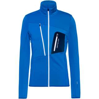 ORTOVOX Grid Fleecejacke Herren safety blue