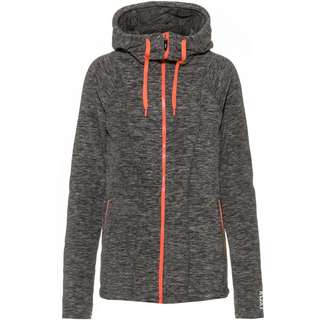 Roxy Kapuzenjacke Damen charcoal heather