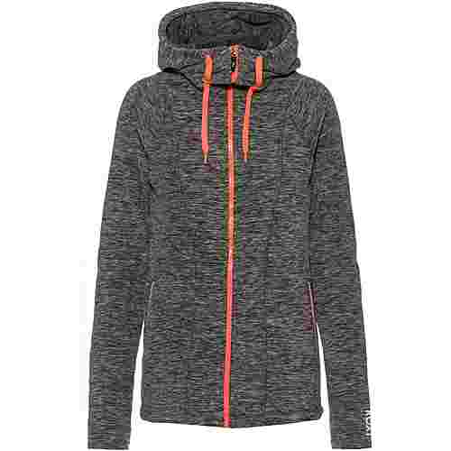 Roxy ELECTRIC FEELING Kapuzenjacke Damen charcoal heather