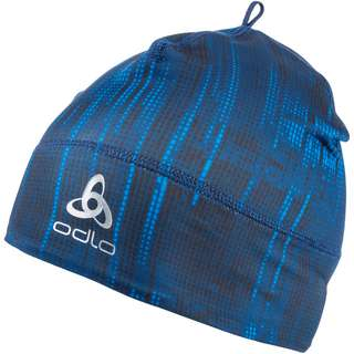 Odlo POLYKNIT WARM Langlaufmütze estate blue graphic fw20