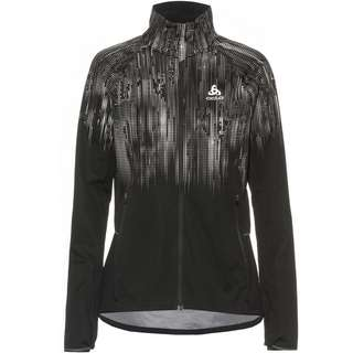 Odlo ZEROWEIGHT PRO WARM REFLECT Funktionsjacke Damen black reflective graphic fw20