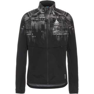 Odlo ZEROWEIGHT PRO WARM REFLECT Funktionsjacke Herren black reflective graphic fw20