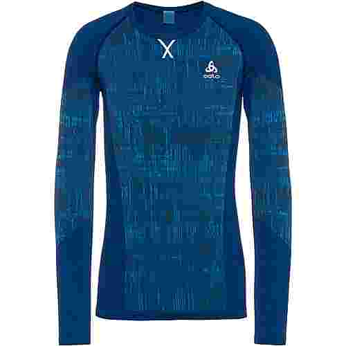 Odlo Funktionsshirt Herren estate blue