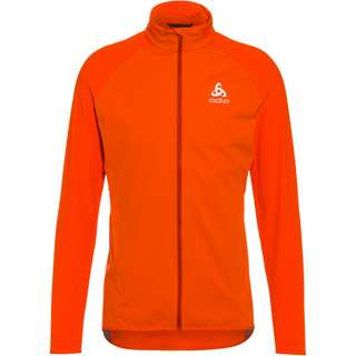 Odlo ZEROWEIGHT WARM HYBRID Funktionsjacke Herren orange.com