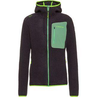 La Sportiva Agon Strickfleece Herren carbon/jasmine green