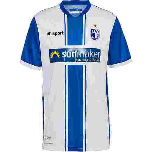 Uhlsport 1. FC Magdeburg 20-21 Heim Trikot Herren weiß-azurblau