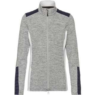KJUS Radun Strickfleece Damen white melange-atlanta blue