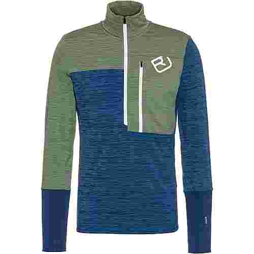 ORTOVOX Fleece Light Zip Fleecepullover Herren night blue blend