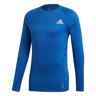 adidas Runner Longsleeve Funktionsshirt Herren Blau