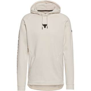 Under Armour Project Rock Hoodie Herren summit white-black