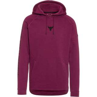Under Armour Project Rock Hoodie Herren level purple black