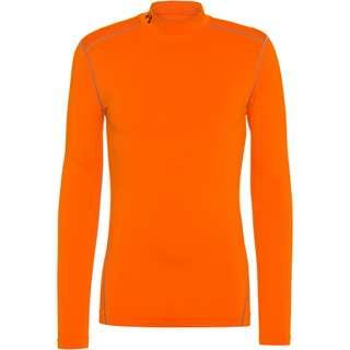 Under Armour Coldgear Funktionsshirt Herren vibe orange-black