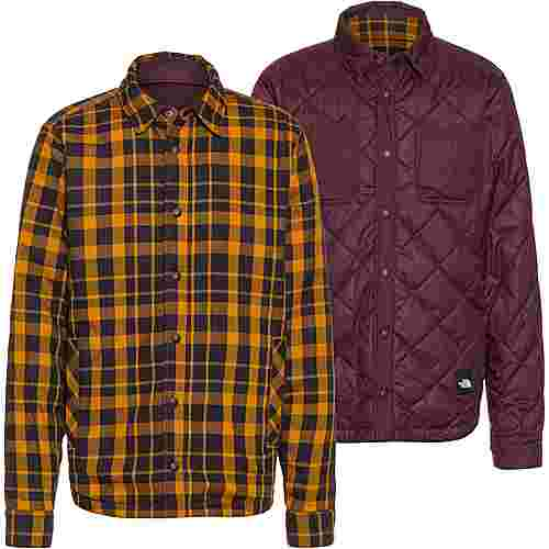 The North Face FORT POINT Langarmhemd Herren root brwn/timbr tan plaid