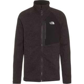 The North Face Fleecejacke Herren tnf black heather/tnf black