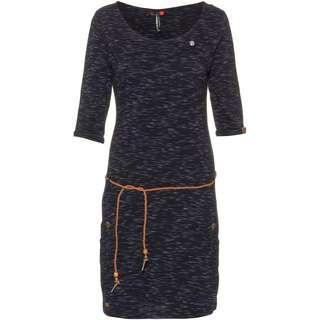 Ragwear Tanya Slub Jerseykleid Damen navy
