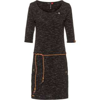 Ragwear Tanya Slub Jerseykleid Damen black