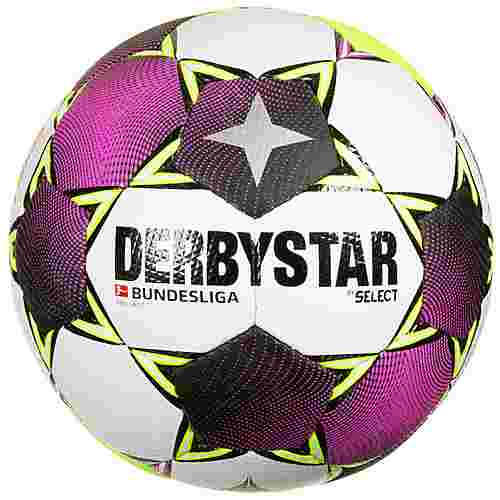 Derbystar Bundesliga Brillant TT Fußball weiß / pink