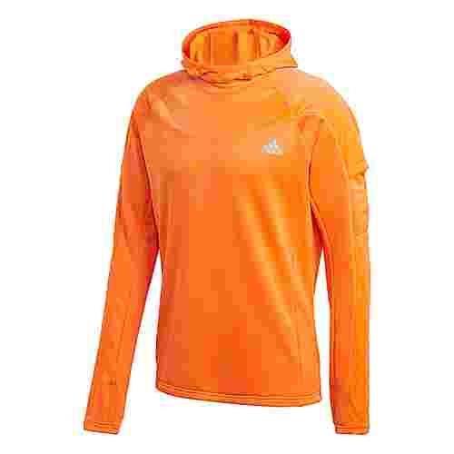 adidas Own the Run Warm Hoodie Hoodie Herren Orange