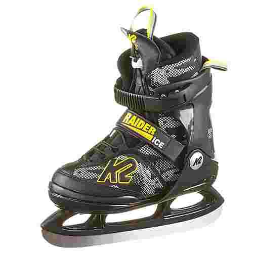 K2 Raider Schlittschuhe Kinder black-yellow