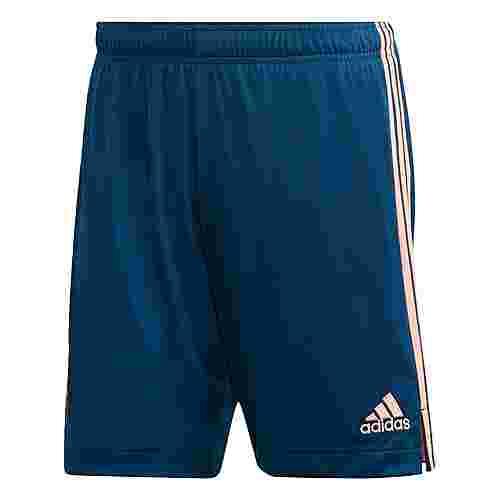 adidas FC Arsenal 20/21 Ausweichshorts Funktionsshorts Herren Legend Marine / Light Flash Orange