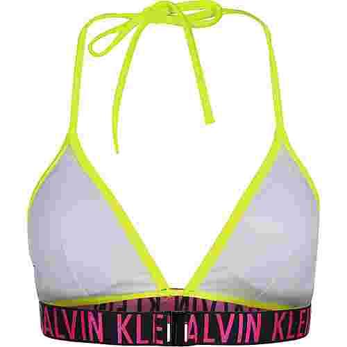 Calvin Klein Fixed Triangle W BH Damen neon/gelb