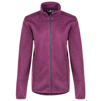 Whistler Maleo W Melange Fleece Jacket Fleecejacke Damen 4081 Potent Purple