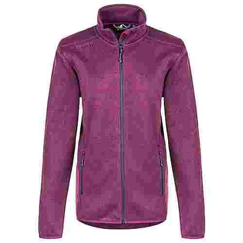 Whistler Maleo W Melange Fleece Jacket Fleecejacke Damen 4081 Potent Purple