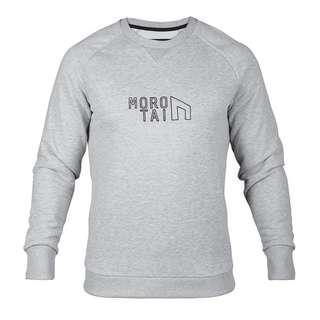 MOROTAI Performance Sweatshirt Sweatshirt Herren Hellgrau