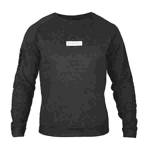 MOROTAI Small Bloc Logo Sweatshirt Longsweat Herren Dunkelgrau