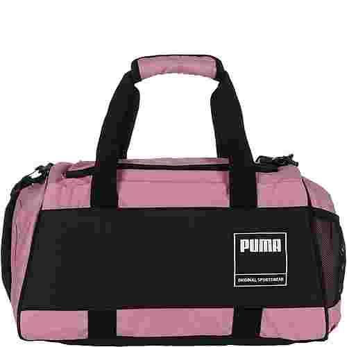 PUMA Gym Duffle S Sporttasche pink / schwarz
