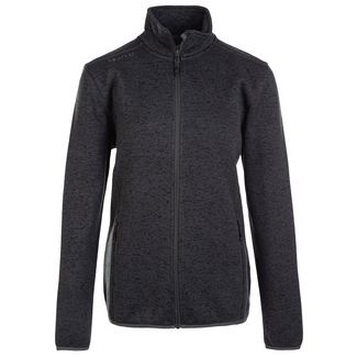 Whistler Maleo W Melange Fleece Jacket Fleecejacke Damen 1011 Dark Grey Melange