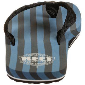 Reef Original Stripes Zehentrenner Herren blau / schwarz