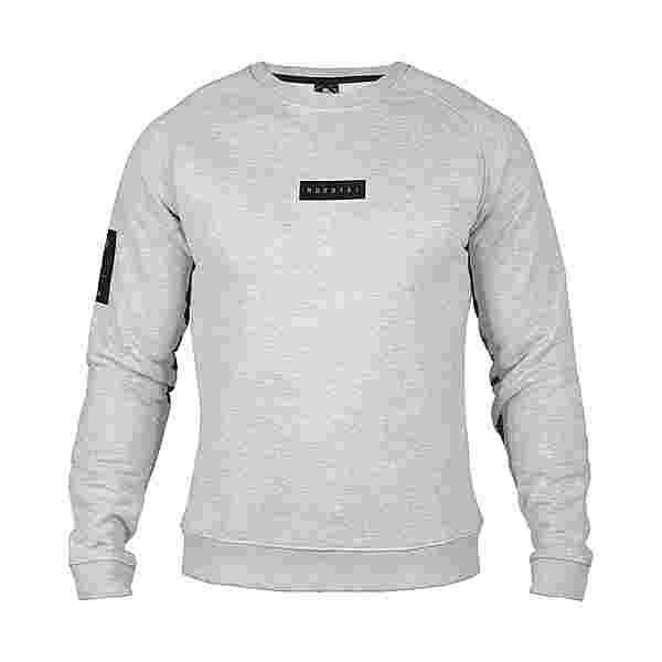 MOROTAI Small Bloc Logo Sweatshirt Longsweat Herren Hellgrau