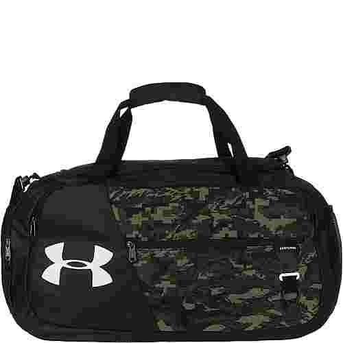 Under Armour Undeniable Duffel 4.0 Medium Sporttasche schwarz / grün