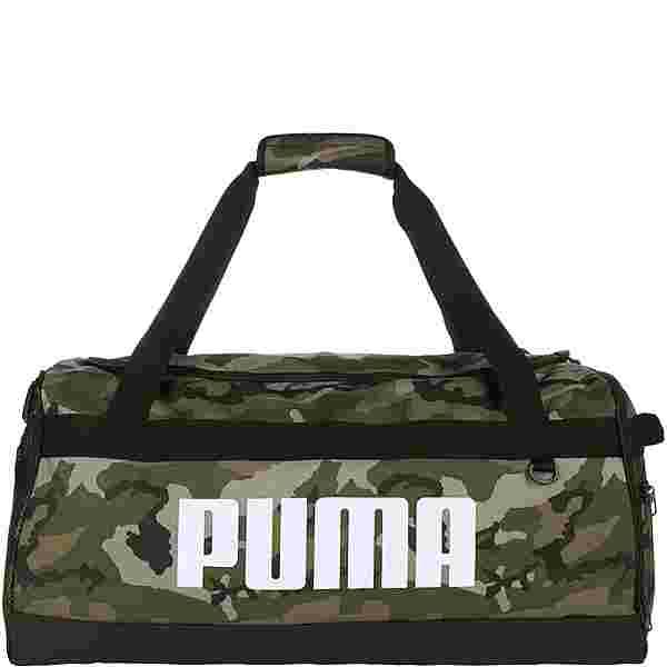 PUMA Challenger Umhängetasche dunkelgrün / braun