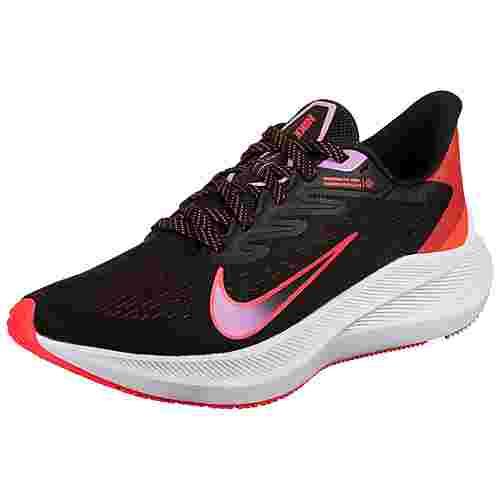 Nike Zoom Winflo 7 Laufschuhe Damen schwarz / pink