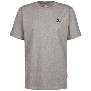CONVERSE Embroidered Star Chevron T-Shirt Herren grau