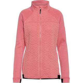 Roxy LIMELIGHT Fleecejacke Damen dusty rose