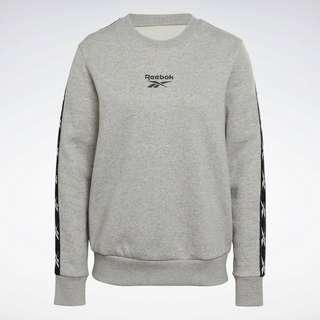 Reebok Training Essentials Crew Sweatshirt Funktionssweatshirt Damen Grau