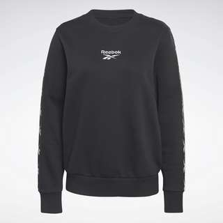 Reebok Training Essentials Crew Sweatshirt Funktionssweatshirt Damen Schwarz