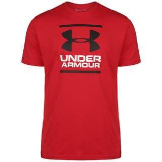 Under Armour Foundation T-Shirt Herren rot / weiß