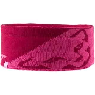 Dynafit Leopard Logo Stirnband flamingo
