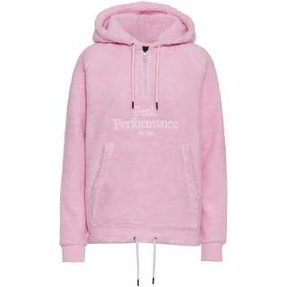 Peak Performance Original Pile Fleecehoodie Damen cold blush